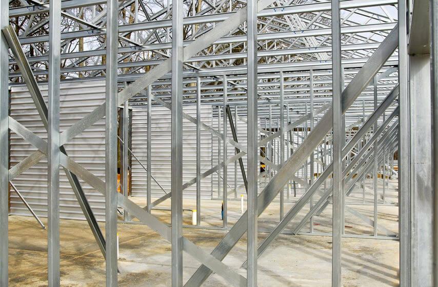 Steel Frame Warehouse Buildings