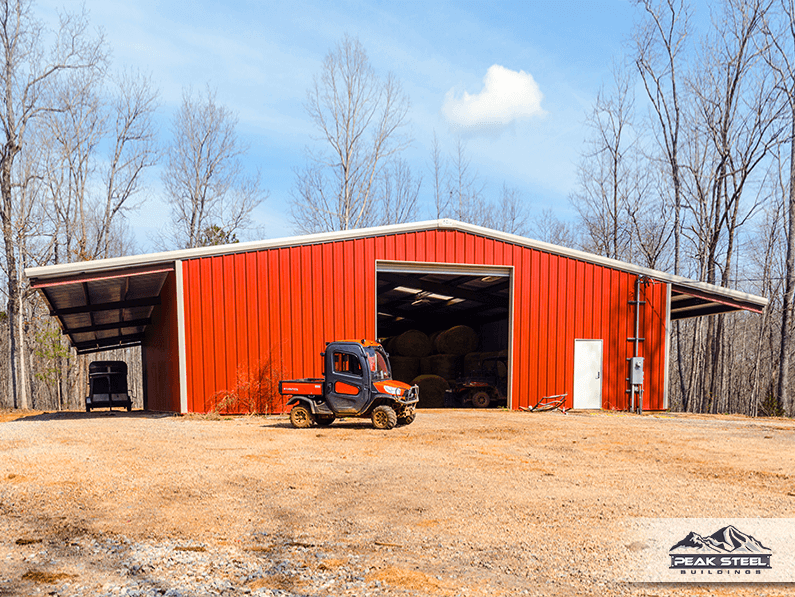 Farm Sheds And Barns : Steel agricultural buildings barns hay sheds