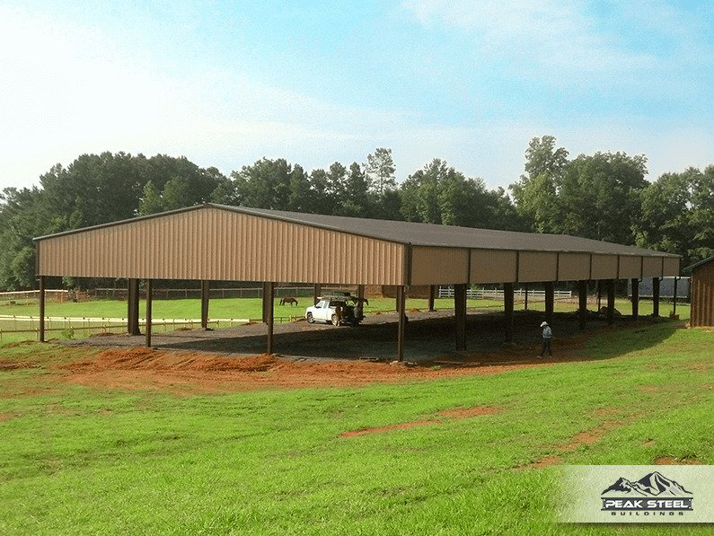 Steel Horse Arenas Equestrian Buildings Metal Riding