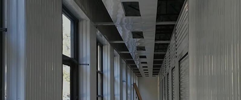 Metal Hallway System Designs