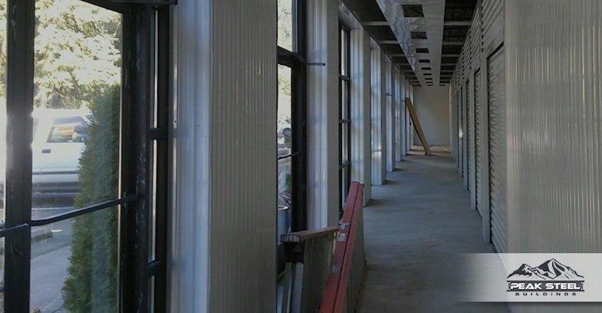 Steel Hallway System Plans