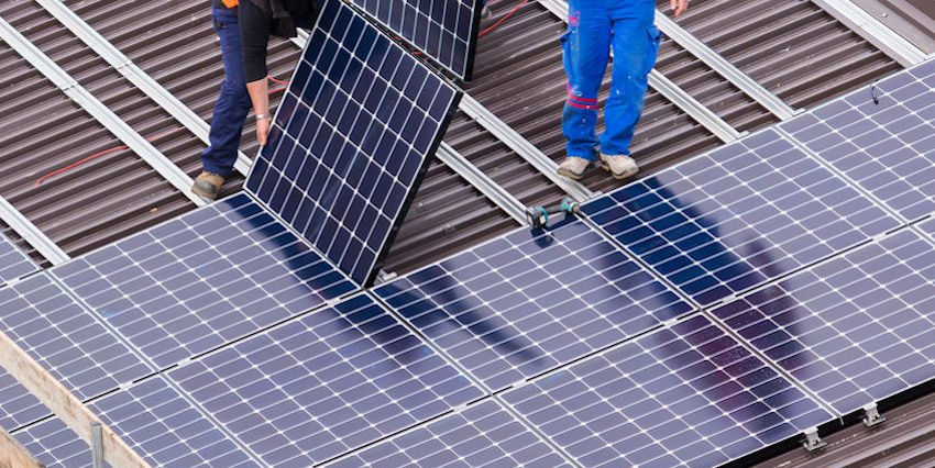 Solar Panels and Steel Buildings