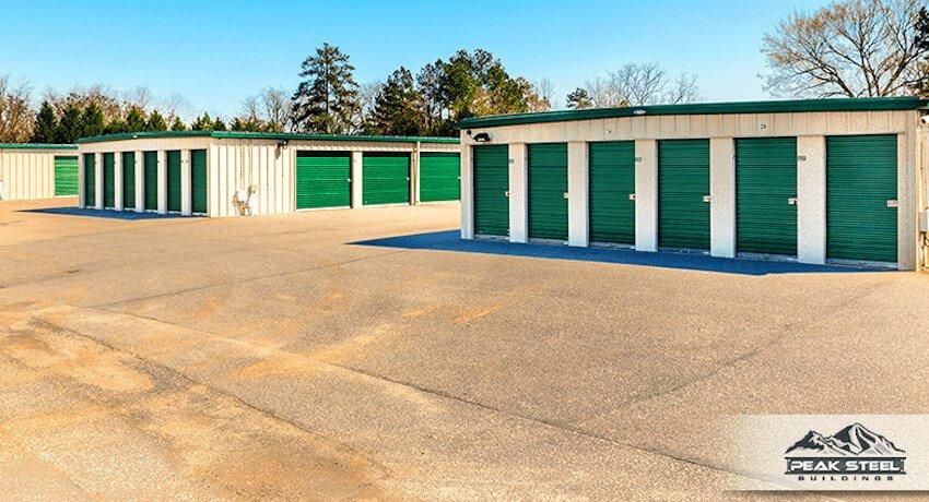 metal self storage building